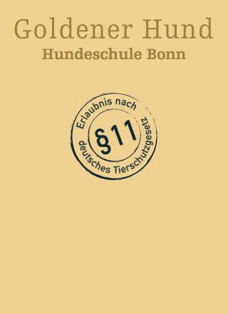 Erlaubnis nach §11 des deutschen Tierschutzgesetzes ist erteilt.